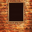 Retro Revival Old Gold Frame — Stock Photo #6293632