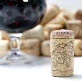 Cork from wine — Stock Photo