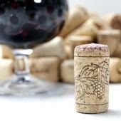 Cork from wine — Stock Photo