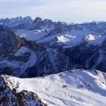 Постер, плакат: Dolomites mountain in winter