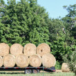 Stock Photo: Hay Loaded And Ready To Go.