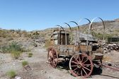 Old Wagon in Oatman, Arizona — Stock Photo