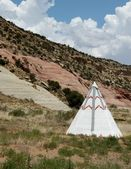 Tee Pee at Chief Yellow Horse in Arizona — Stock Photo