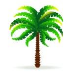 Palm tree 2 — Stock Vector #6114227