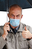 The flu - will not pass! — Stock Photo