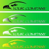 Your company logo — Stock Vector