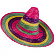 Multicolored sombrero — Stock Photo