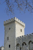Popes palace tower in Avignon — Stock Photo