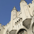 Stock Photo: Palace of popes in Avignon