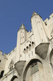 Palace of popes in Avignon — Stock Photo