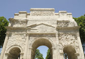 Front of roman arch of triumph — Stock Photo