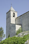 Old church steeple in south of France — Stock Photo