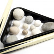 Stock Photo: Billiard stone balls