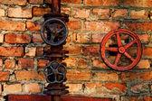 Old valves — Stock Photo