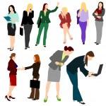 Business Women No.1. — Stock Vector