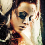 Golden lady — Stock Photo #5485586