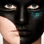 Black makeup — Stock Photo