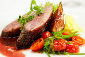 Duck fillet — Stock fotografie