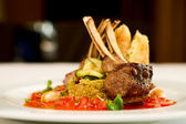 Grilled lamb — Stockfoto