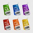 Royalty-Free Stock Vector Image: Sale labels