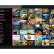 Social Network on Tablet PC — Stockfoto