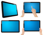 Tablet PC Set with Clipping Path — Stock Photo
