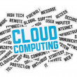 Cloud Computing Sign — Stockfoto
