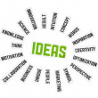 Stock Photo: Ideas Sign