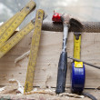Carpenter tool — Stock Photo