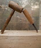 Chisle und hammer — Stockfoto