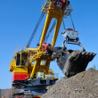 Crawler-mounted excavator — Stock Photo
