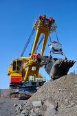 Crawler-mounted excavator — Stock Photo
