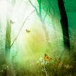Royalty-Free Stock Photo: The magic forest