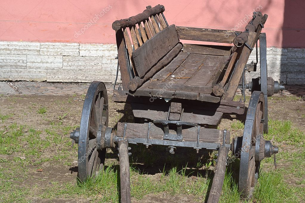 The photo of old cart .   Stock Photo #5596992