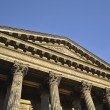Pediment of Kazan Cathedral in St.Petersburg — Stock Photo