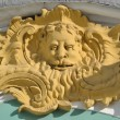 Bas-relief. Architectural detail of Winter Palace. - Stock Photo
