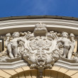 Relief on the building, St.Petersburg - Stock Photo