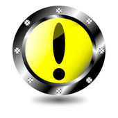 Attention icon — Stock Vector