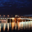 Night view of the St Petersburg — Stock Photo #6138384