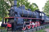 Rosyjski przestarzałe lokomotywa — Zdjęcie stockowe