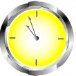 Clock circle icon — Stockvektor