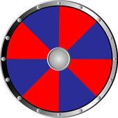 Round shield — Stock Vector