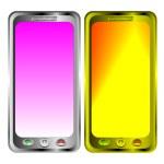 2 Phones — Stock Vector