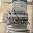 Stock Photo: Dishes in dishwasher