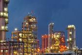 Petrochemische plant — Stockfoto