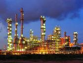 Petrokimya tesisleri — Stok fotoğraf