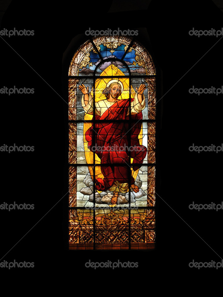 STAINED GLASS WINDOW — Stock Photo #6719925