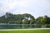 Blejsko jezero, Bled — Stock Photo