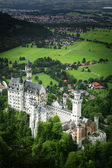 Castle Neuschwanstein, Fussen Bavaria — Stock Photo