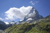 Mount Matterhorn, Zermatt — Stock Photo